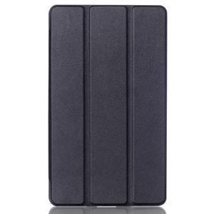 Trifold polohovatelné pouzdro na tablet Huawei MediaPad M2 8.0 - černé - 1