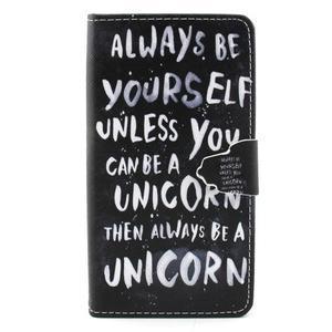 Emotive pouzdro na mobil Huawei P8 Lite - unicorn - 1