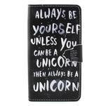 Emotive pouzdro na mobil Huawei P8 Lite - unicorn - 1/6