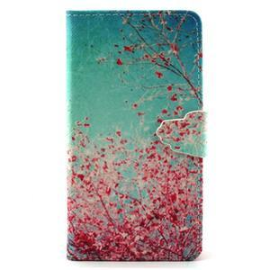 Emotive pouzdro na mobil Huawei P8 Lite - kvetoucí švestka - 1