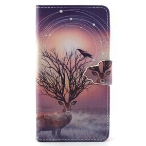 Emotive pouzdro na mobil Huawei P8 Lite - mytický jelen - 1