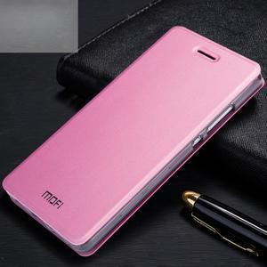 Vintage PU kožené pouzdro na Huawei P8 Lite - růžové - 1