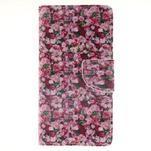 Leathy PU kožené pouzdro na Huawei P8 Lite - růže - 1/7