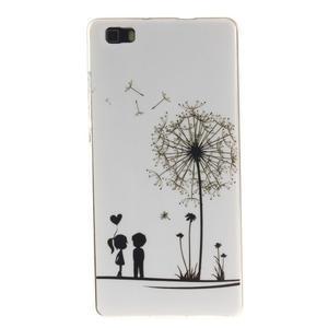 Flexi gelový obal na mobil Huawei P8 Lite - láska - 1