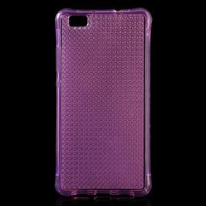 Diamonds gelový obal na Huawei P8 Lite - rose - 1