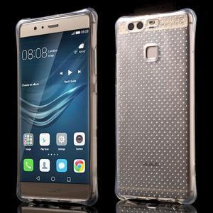 Transparentní gelový obal se zesílenými rohy na Huawei P9 Lite - 1
