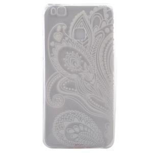 Ultratenký gelový obal na Huawei P9 Lite - elegantní květiny - 1