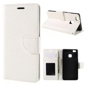 Easy peněženkové pouzdro na mobil Huawei P9 Lite - bílé - 1