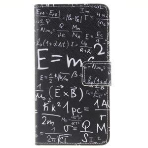 Knížkové PU kožené pouzdro na Huawei P9 Lite - vzorečky - 1