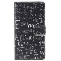 Knížkové PU kožené pouzdro na Huawei P9 Lite - vzorečky - 1/7