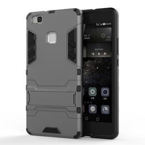 Odolný obal na mobil Huawei P9 Lite - šedý - 1