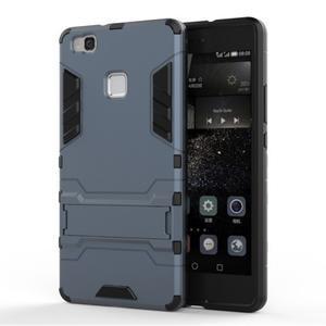 Odolný obal na mobil Huawei P9 Lite - šedomodrý - 1