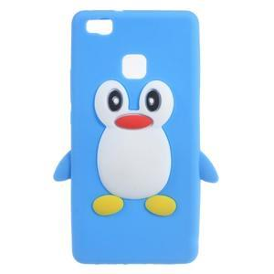 Silikonový obal na mobil Huawei P9 Lite - modrý - 1