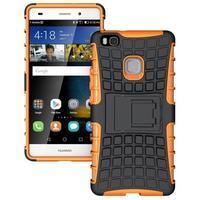 Outdoor odolný kryt na Huawei P9 Lite - oranžový - 1/3
