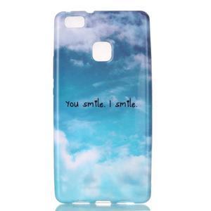 Emotive gelový obal na mobil Huawei P9 Lite - smile - 1