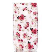 Emotive gelový obal na mobil Huawei P9 Lite - květiny - 1/4