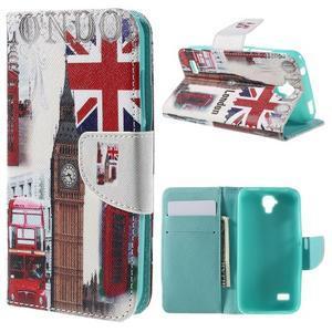 Emotive PU kožené pouzdro na Huawei Y5 - United Kingdom - 1