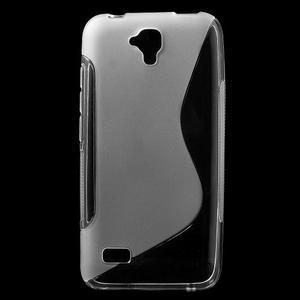 S-line gelový obal na mobil Huawei Y5 a Y560 - transparentní - 1
