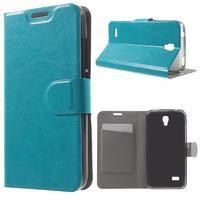 Horse peněženkové pouzdro na mobil Huawei Y5 a Y560 - modré - 1/7