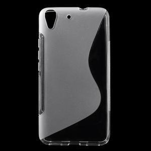 S-line gelový obal na mobil Huawei Y6 - transparentní - 1