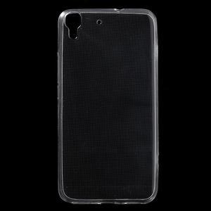 Ultratenký slimový obal na mobil Huawei Y6 - transparentní - 1