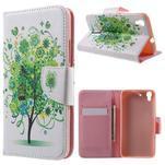 Emotive pouzdro na mobil Huawei Y6 - zelený strom - 1/7