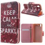 Emotive pouzdro na mobil Huawei Y6 - Keep Calm - 1/7