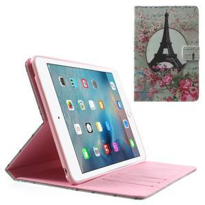Stylové pouzdro na iPad mini 4 - Eiffelova věž - 1