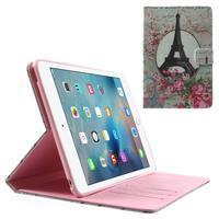 Stylové pouzdro na iPad mini 4 - Eiffelova věž - 1/7