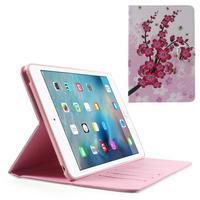 Stylové pouzdro na iPad mini 4 - kvetoucí větvička - 1/7