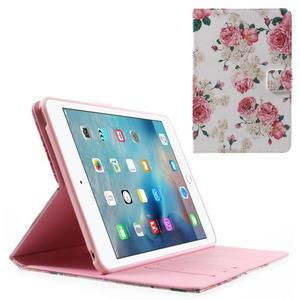 Stylové pouzdro na iPad mini 4 - květiny - 1