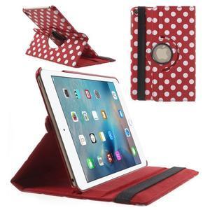 Cyrc otočné pouzdro na iPad mini 4 - červené - 1