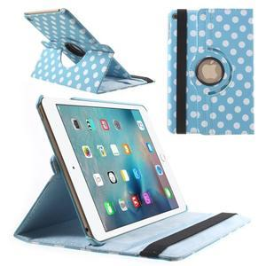 Cyrc otočné pouzdro na iPad mini 4 - světle modré - 1