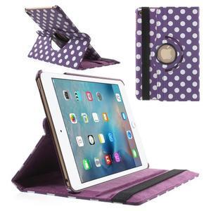 Cyrc otočné pouzdro na iPad mini 4 - fialové - 1