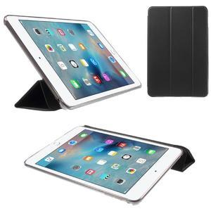 Trifold trojpolohové pouzdro na tablet iPad mini 4 - černé - 1