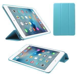 Trifold trojpolohové pouzdro na tablet iPad mini 4 - modré - 1