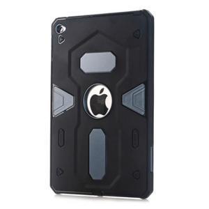 Outdoor dvoudílný gelový/plastový obal na iPad mini 4 - modrošedý - 1
