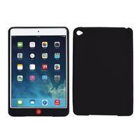 Silikonové pouzdro na tablet iPad mini 4 - černé - 1/3