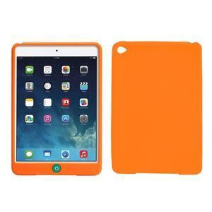 Silikonové pouzdro na tablet iPad mini 4 - oranžové - 1