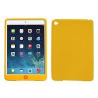 Silikonové pouzdro na tablet iPad mini 4 - žluté - 1/3