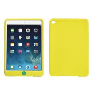Silikonové pouzdro na tablet iPad mini 4 - zelenožluté - 1