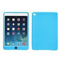 Silikonové pouzdro na tablet iPad mini 4 - světlemodré - 1/3