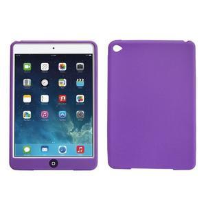 Silikonové pouzdro na tablet iPad mini 4 - fialové - 1