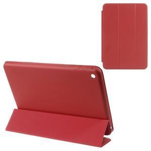 Slimové polohovatelné pouzdro na iPad mini 4 - červené - 1