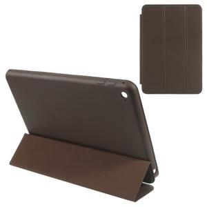 Slimové polohovatelné pouzdro na iPad mini 4 - coffee - 1