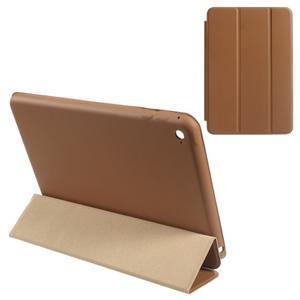 Slimové polohovatelné pouzdro na iPad mini 4 - hnědé - 1