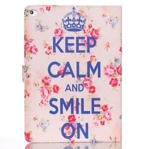 Knížkové pouzdro na tablet iPad mini 4 - Keep Calm - 1