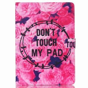 Knížkové pouzdro na tablet iPad mini 4 - nedotýkat se - 1