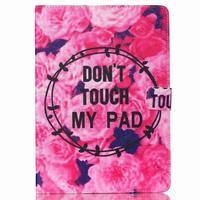 Knížkové pouzdro na tablet iPad mini 4 - nedotýkat se - 1/7