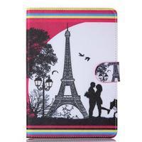 Knížkové pouzdro na tablet iPad mini 4 - Eiffelova věž - 1/6